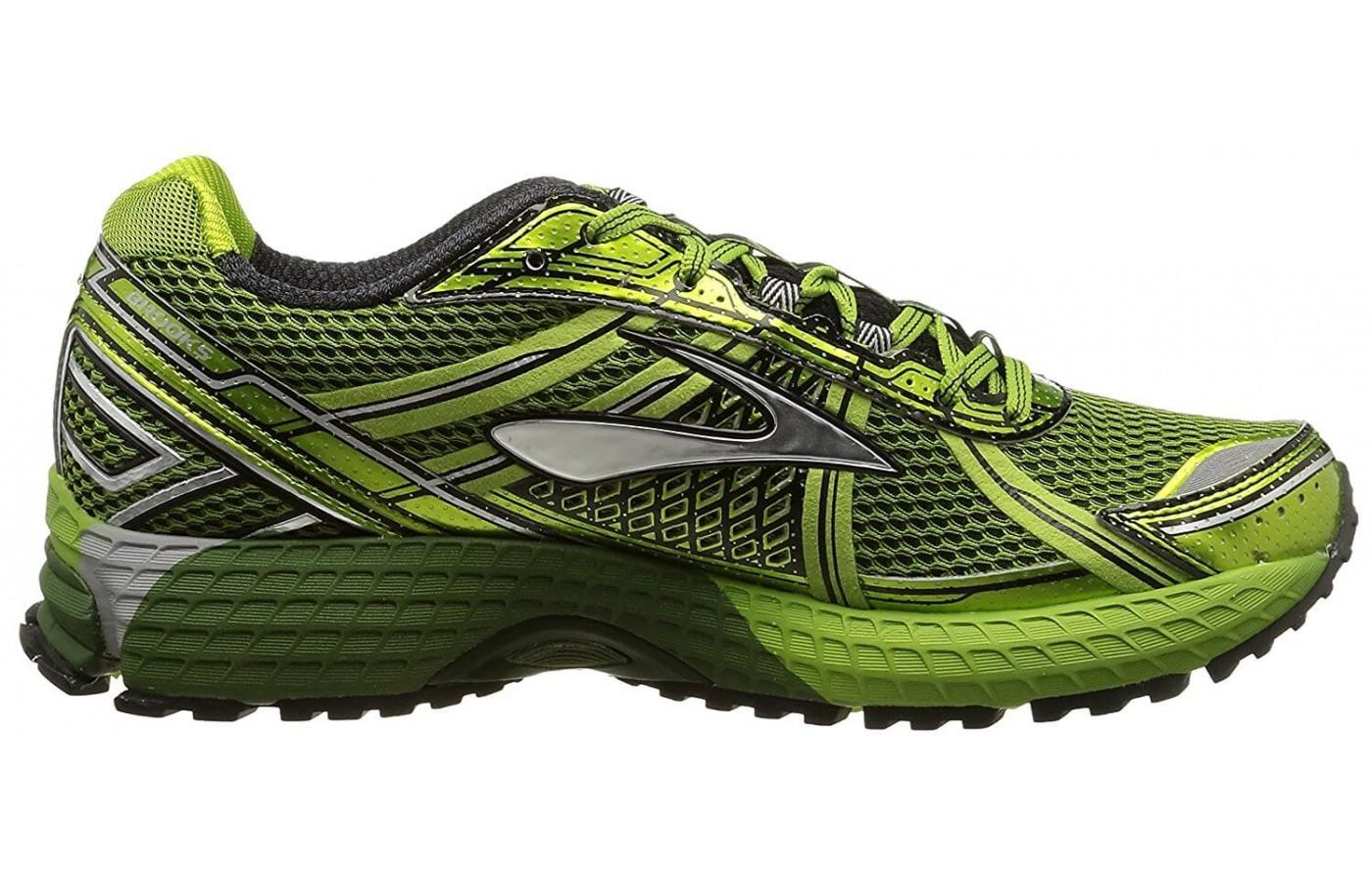 a good look at the side of the Brooks Adrenaline ASR 12