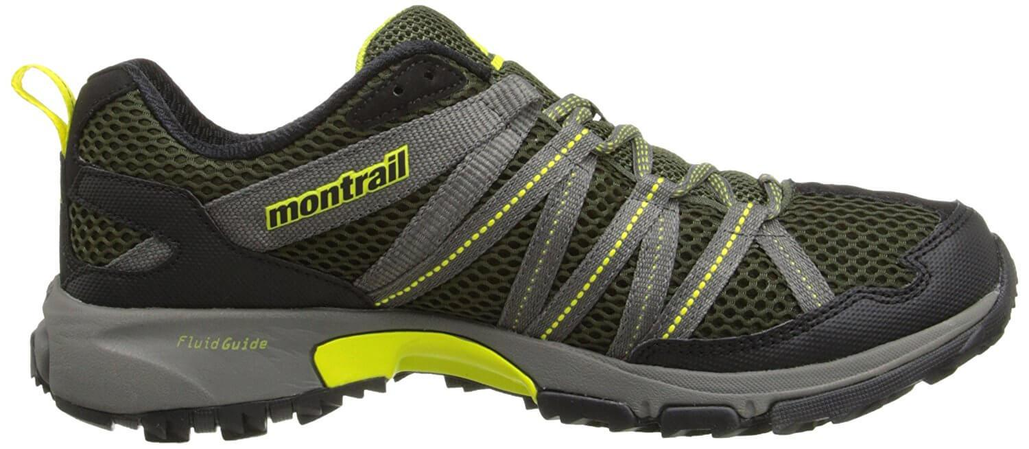 Protective and supportive midsole of the Montrail Mountain Masochist III