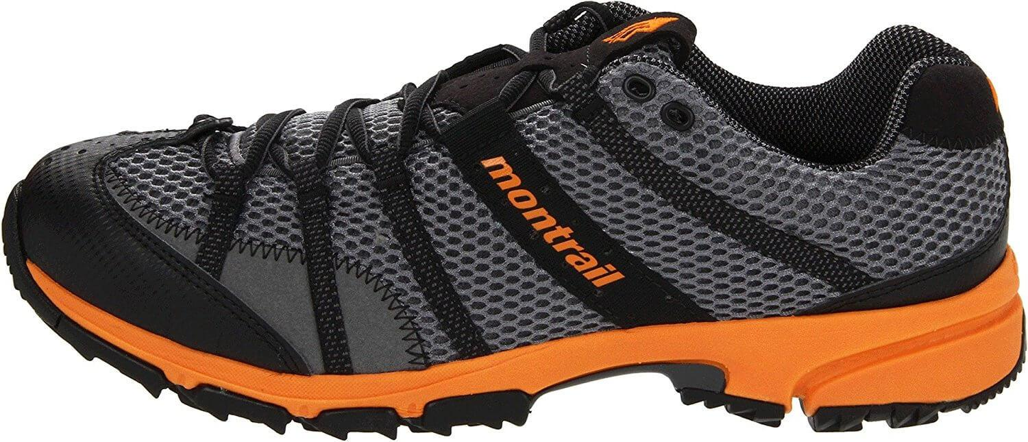 Supportive midsole of the Montrail Mountain Masochist II