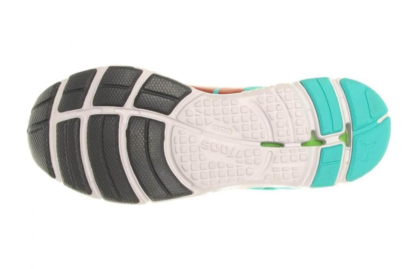 the outsole of the Puma Faas 600 v2