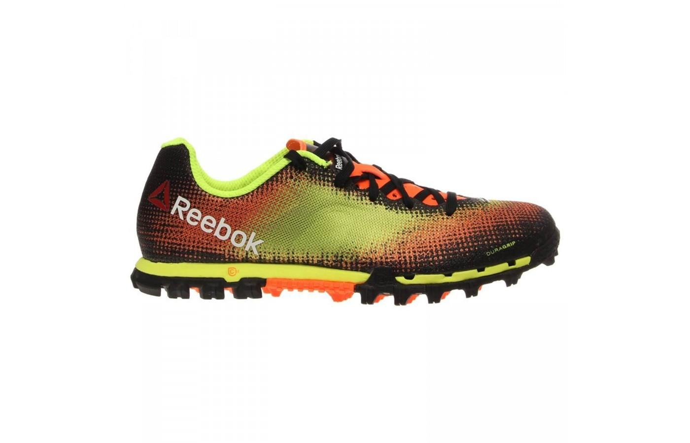 8a1c83621888ea The H2O drainage ports quickly remove water and mud from the Reebok All  Terrain Sprint.