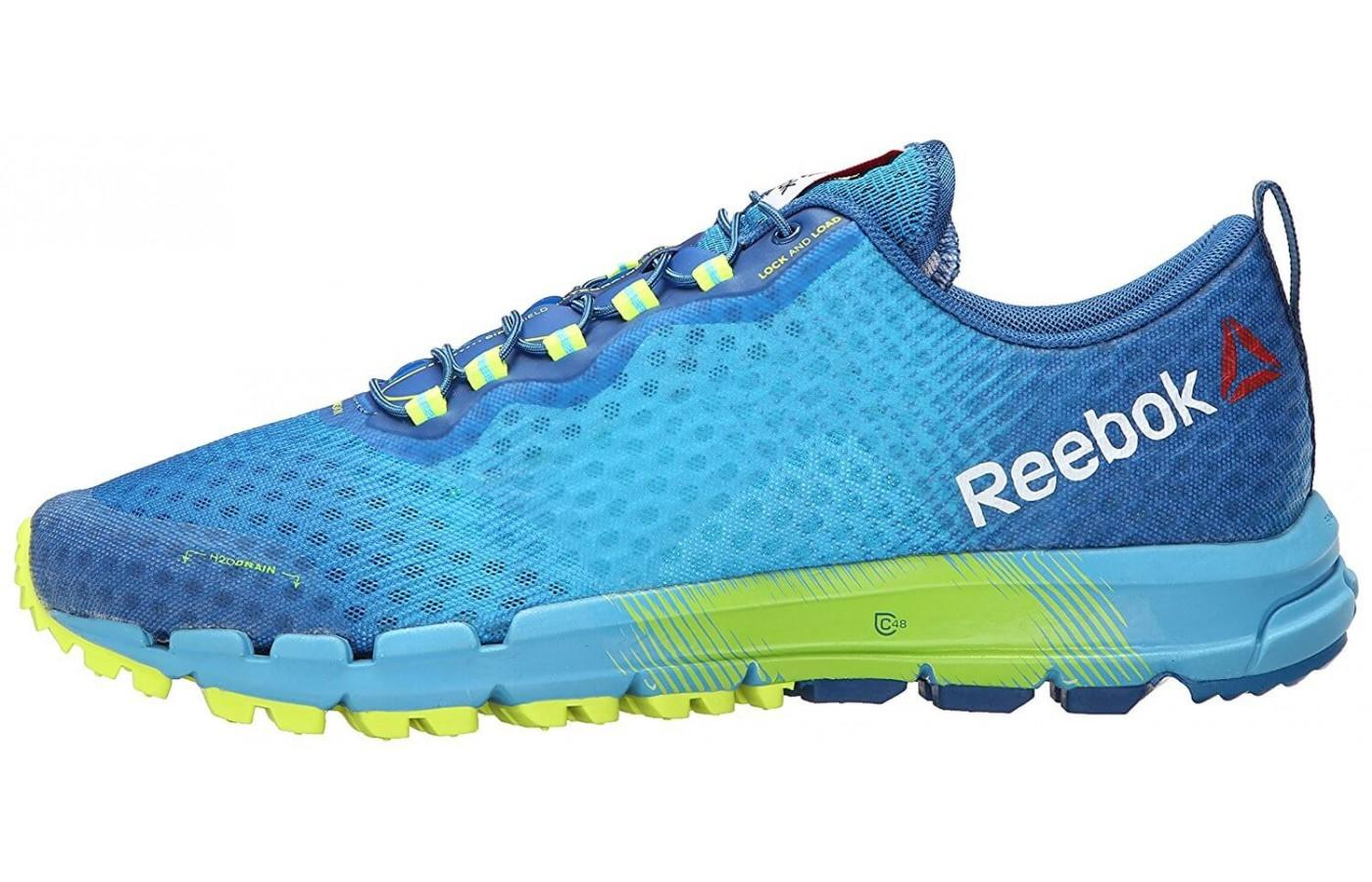 The Reebok All Terrain Thunder 2.0 Sideview with Logo
