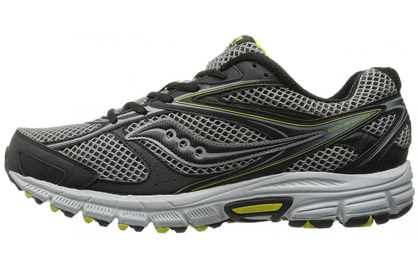 some reviewers liked the look of the Saucony Cohesion TR 8, while others didn't like the muted colors