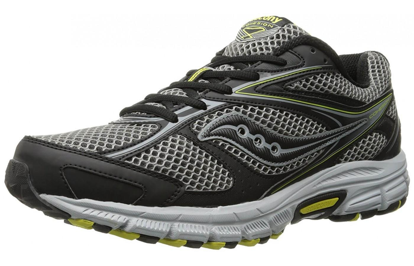 the Saucony Cohesion TR 8 shown from the front/side