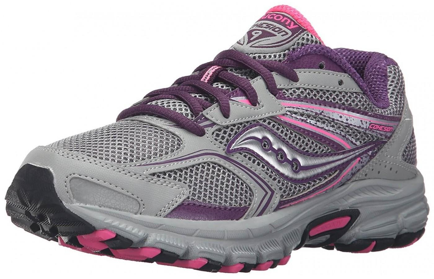 the Saucony Cohesion TR 9 shown from the front/side