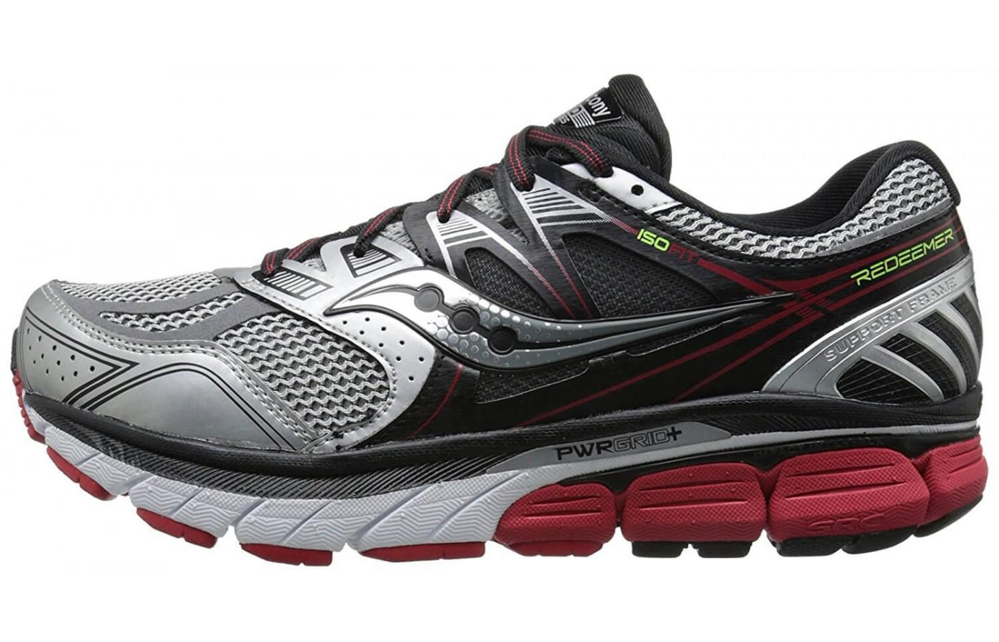 Saucony Redeemer ISO has a profile that's quite unique