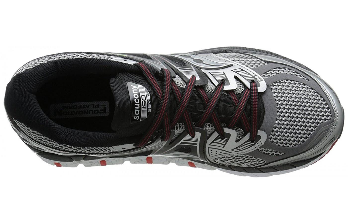 The upper on the Saucony Redeemer ISO is very breathable