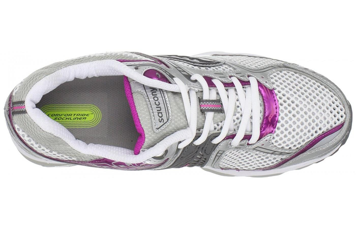 Saucony Stabil CS2 has a breathable mesh upper