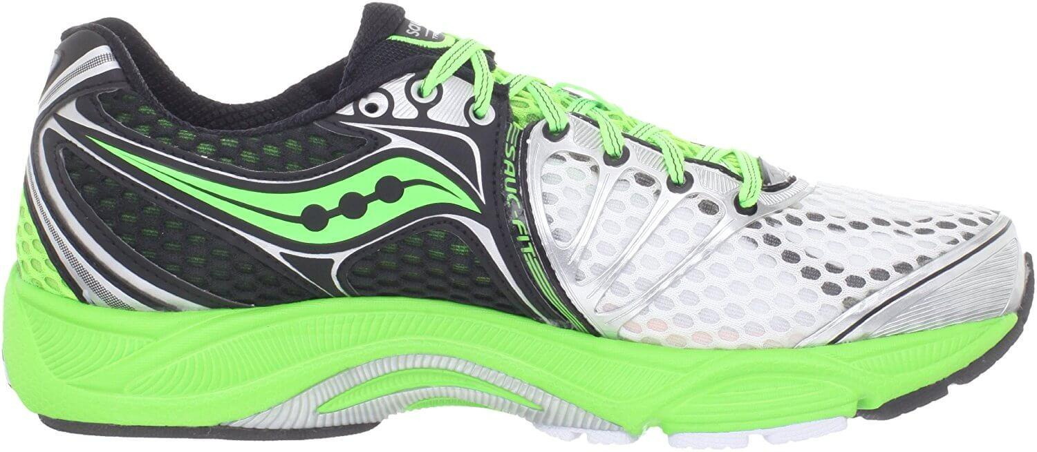 Saucony Triumph 10 cushioned midsole promotes stability