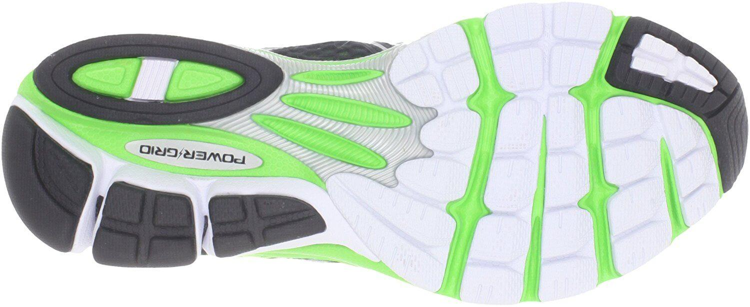 Outsole Of Saucony Triumph 10 has excellent traction on road surfaces