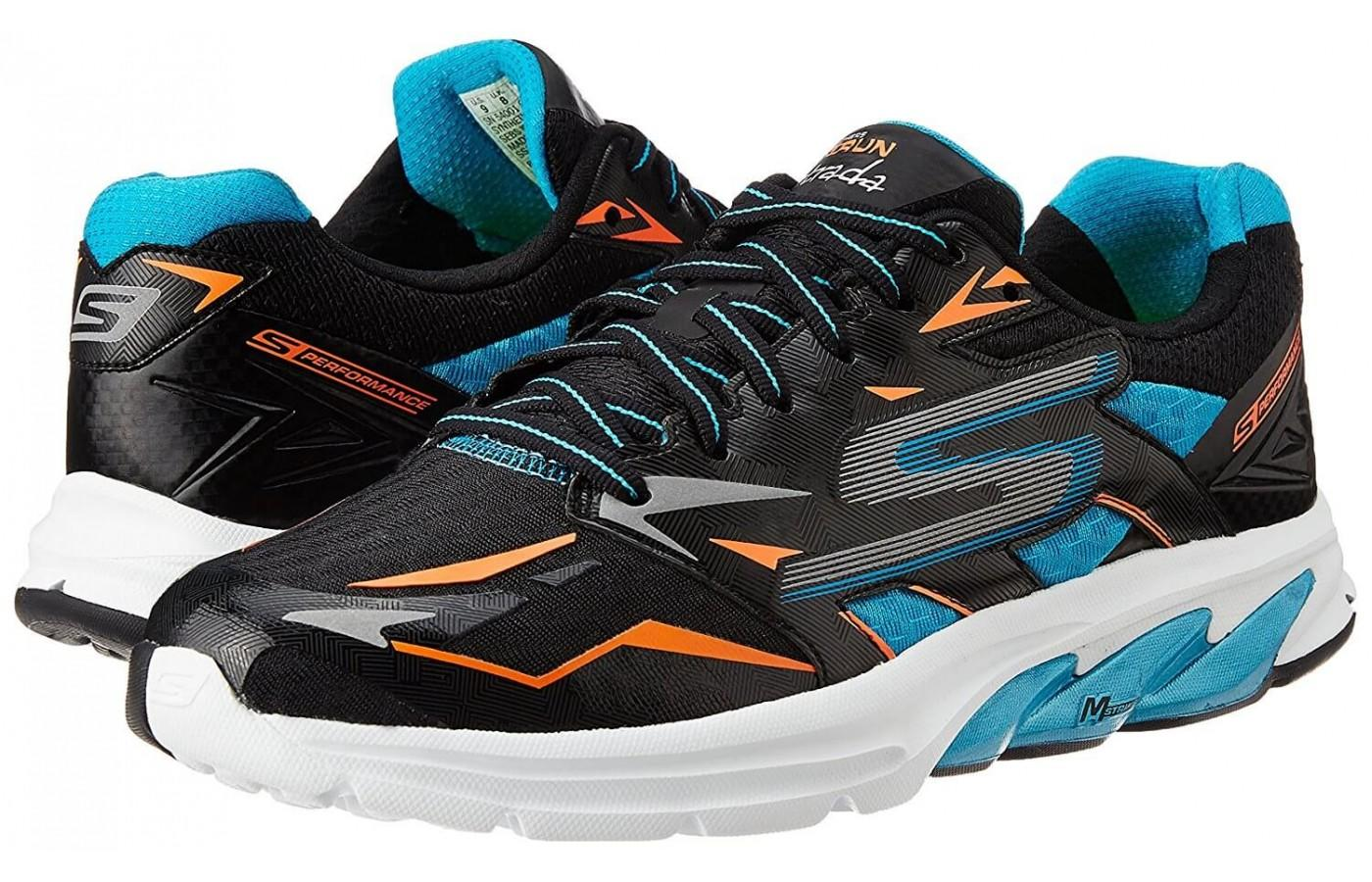 a pair of Skechers GOrun Strada shoes
