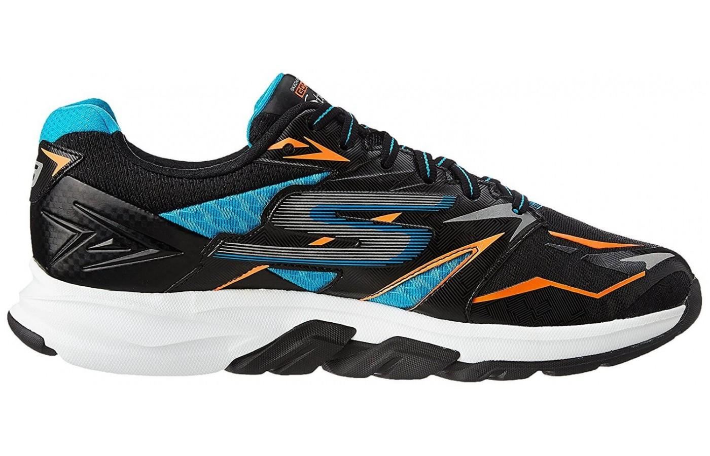 9fc9bf368 ... the Skechers GOrun Strada has a Layered Support Zone to stabilize the  midfoot ...