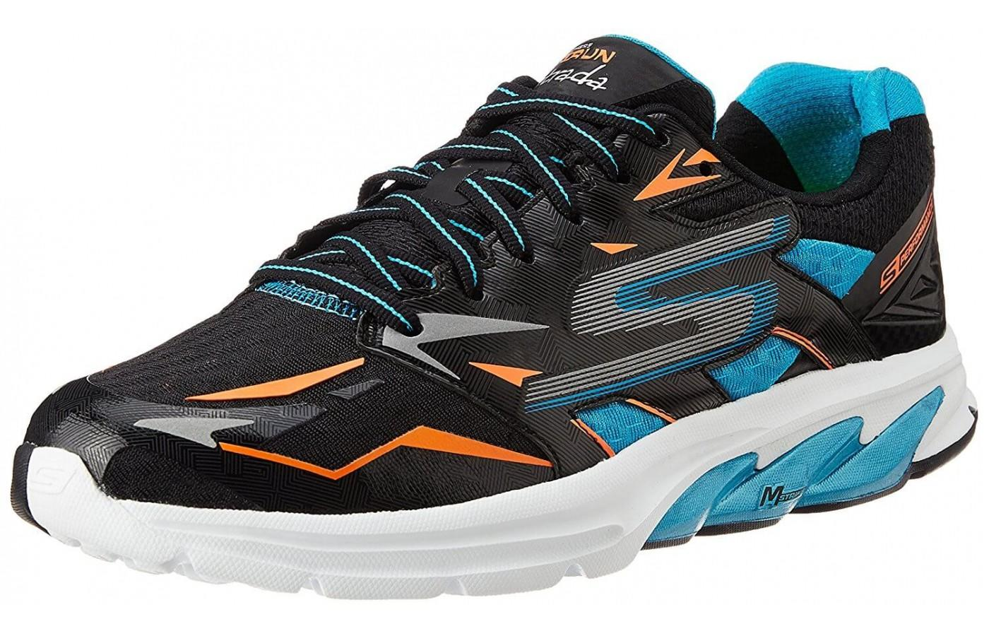a3e07ad0d the Skechers GOrun Strada shown from the front/side ...
