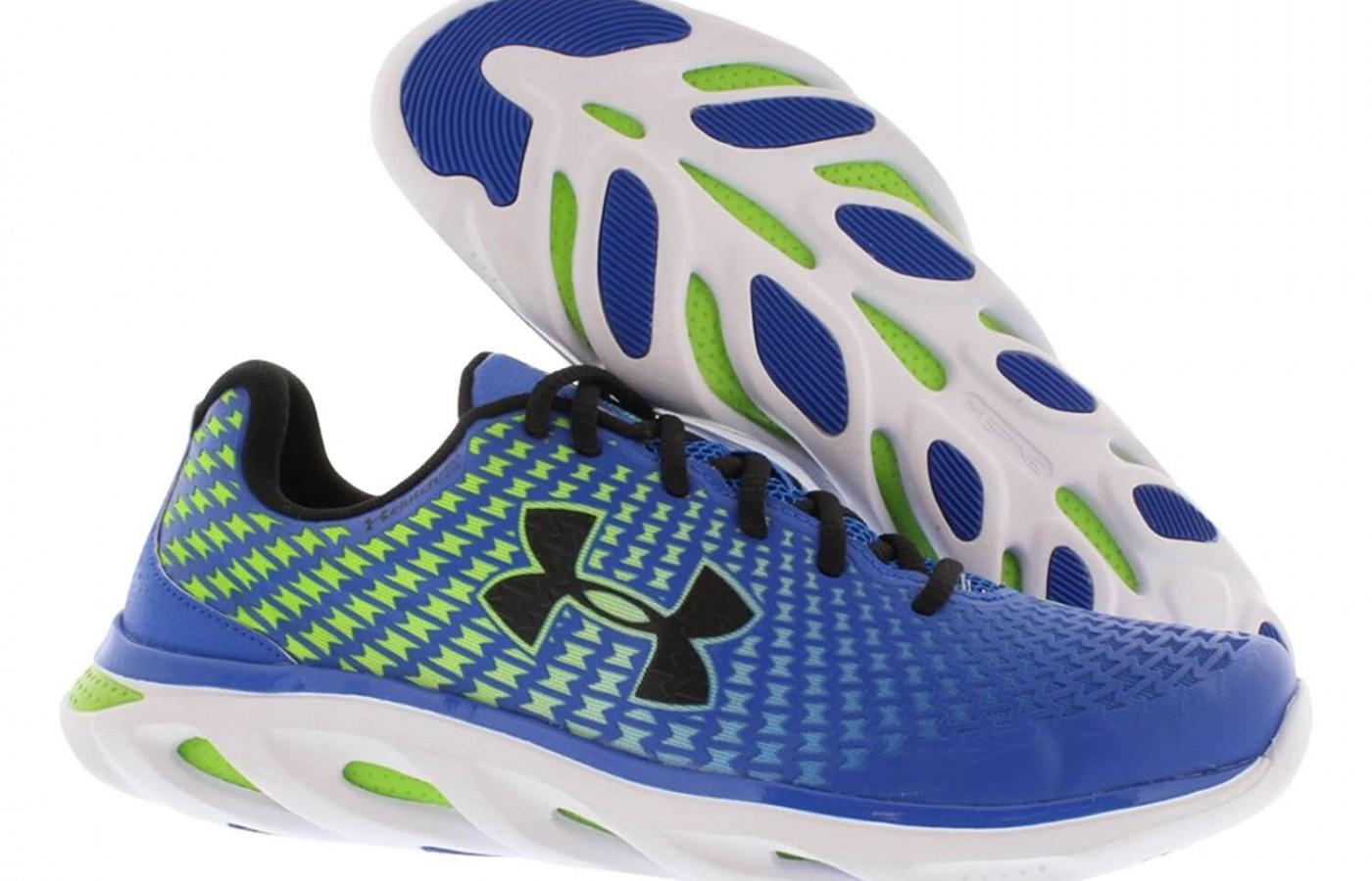 The outsole of the Under armour Spine Clutch