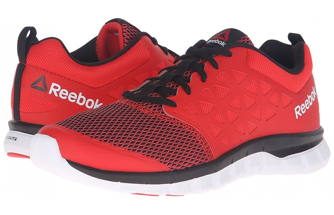 a pair of Reebok Sublite XT Cushion 2.0's are stylish but affordable