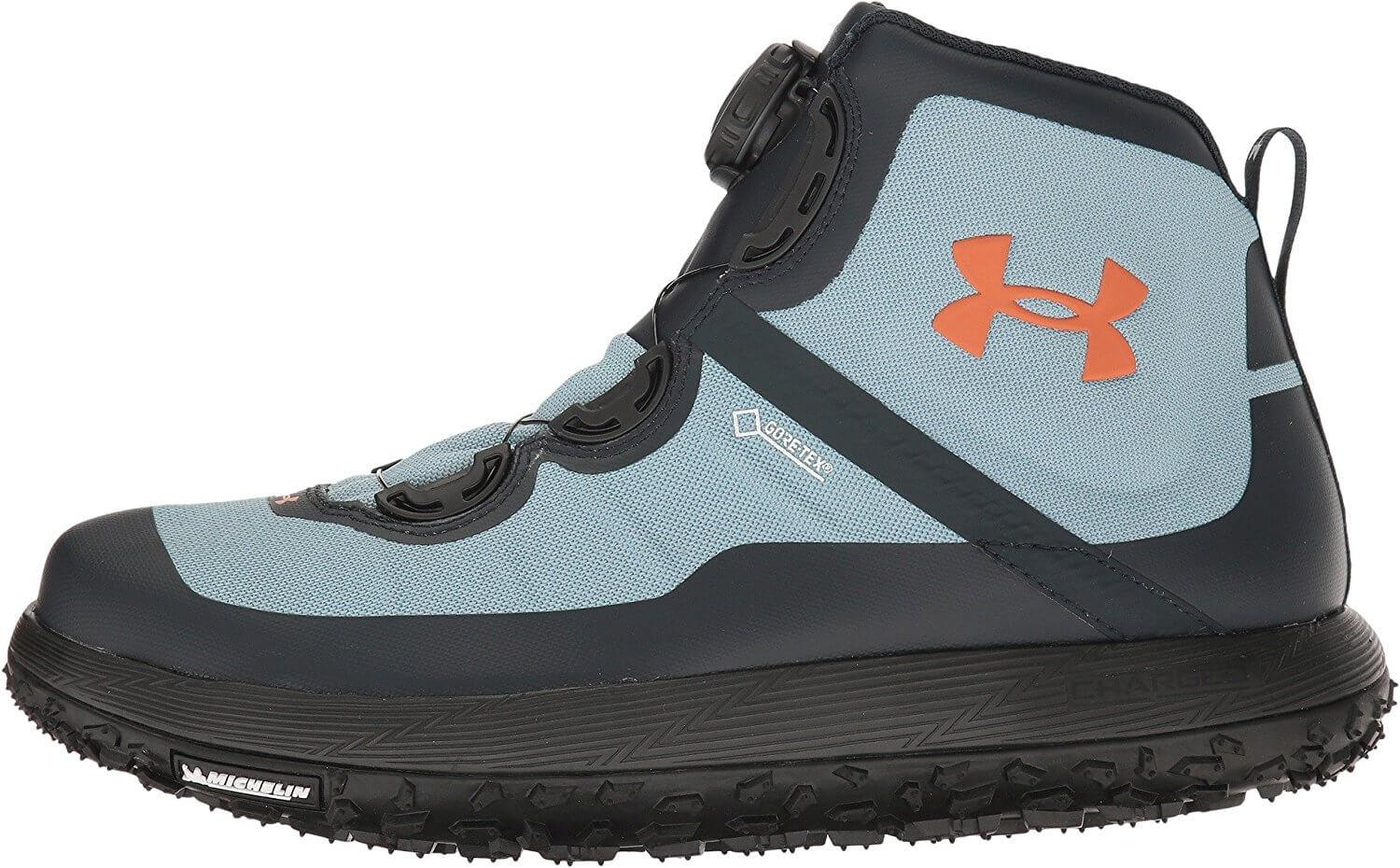 Under Armour Fat Tire GTX protects the entire foot