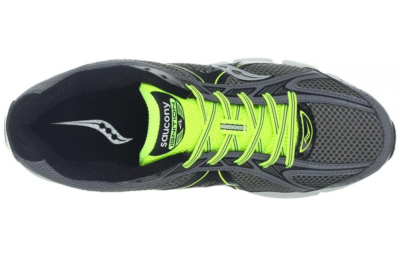 Saucony Ignition 4 has a highly breathable upper unit