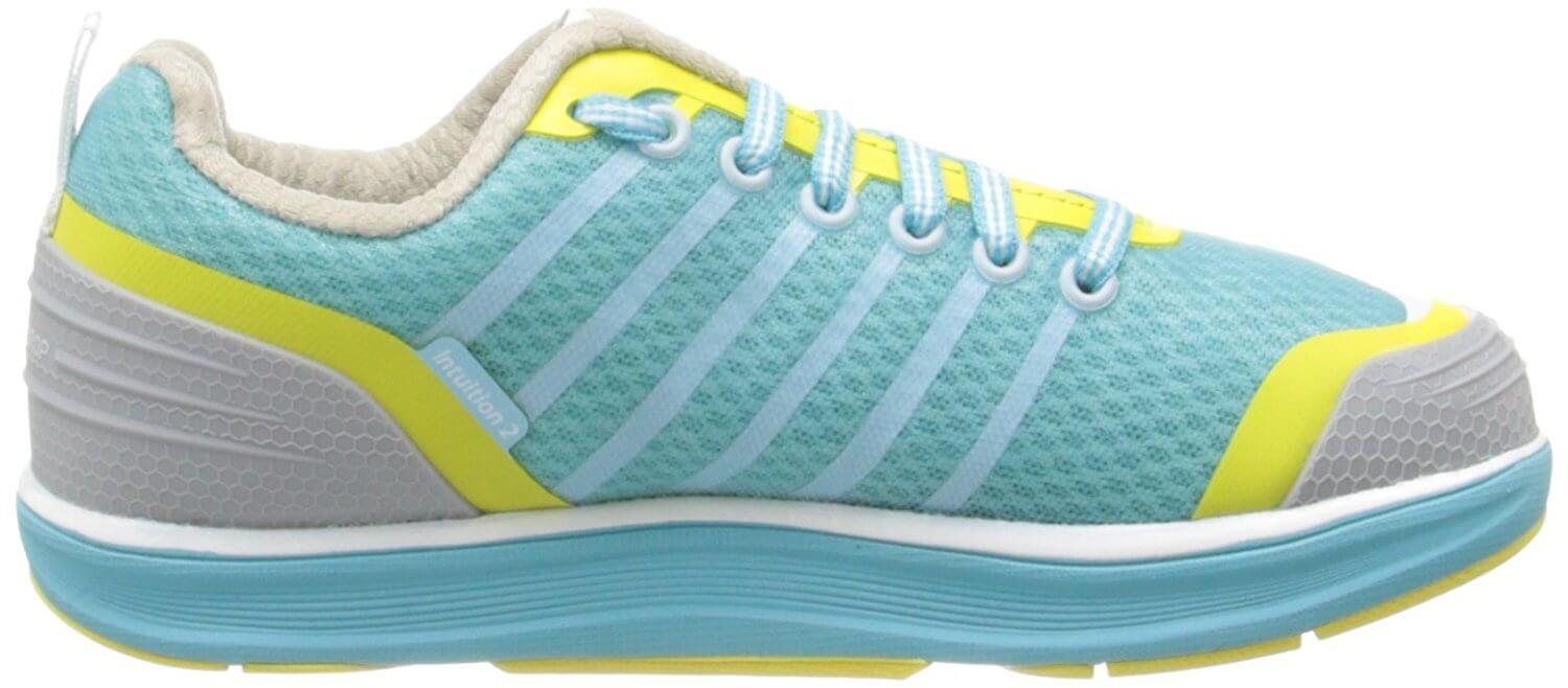 Women's Intuition 2 has a softer cushioned midsole than previous versions