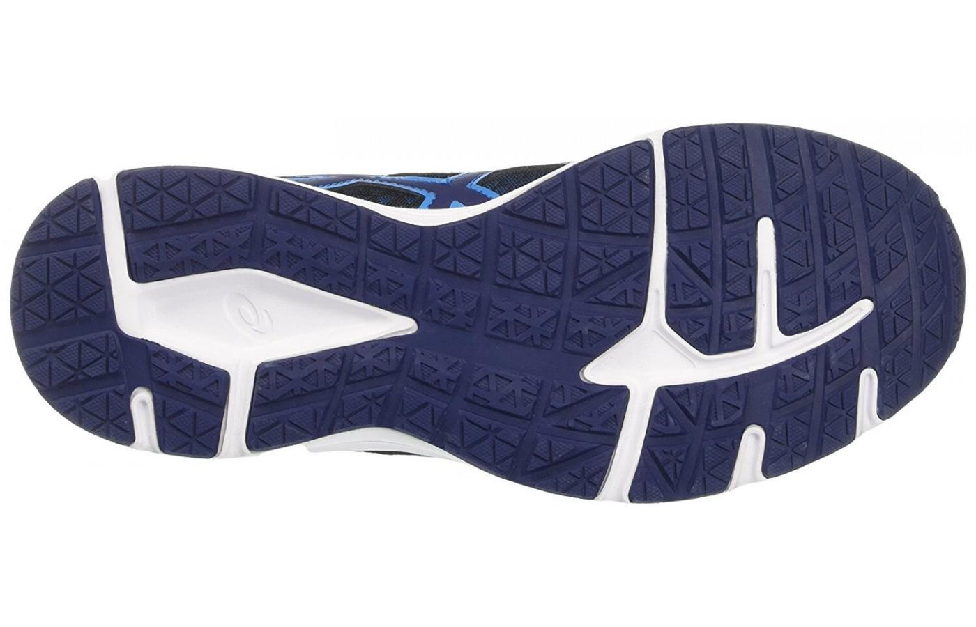 e437274944d ... the outsole of the ASICCS Patriot 8 has good traction