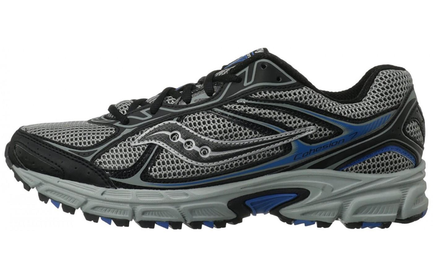 side view of the Saucony Cohesion TR7