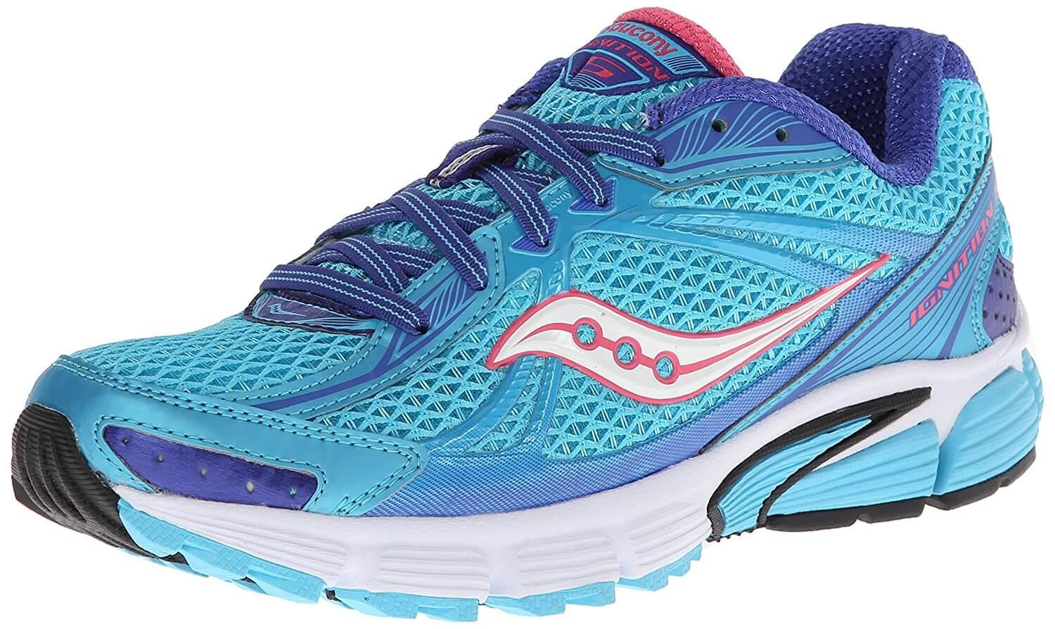 Saucony Ignition 5 is a highly cushioned shoe