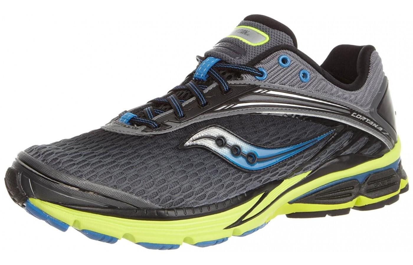 Saucony Cortana 2 updated, especially in the upper
