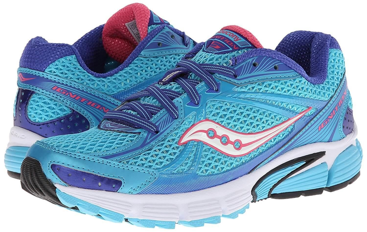 The Saucony Ignition 5 is great for beginner runners and heavier runners.