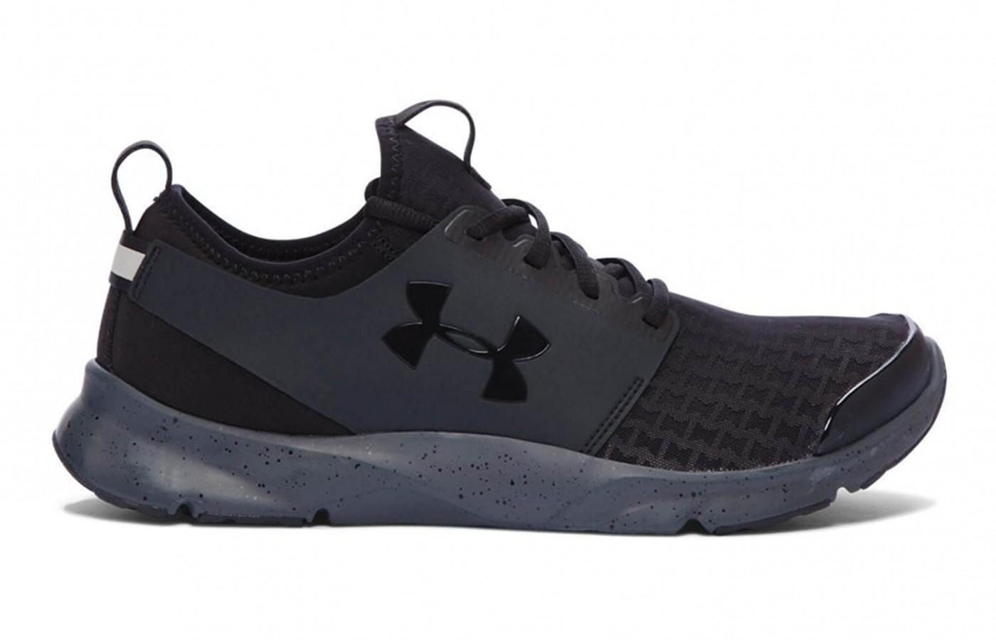 The Under Armour Drift sideview with logo