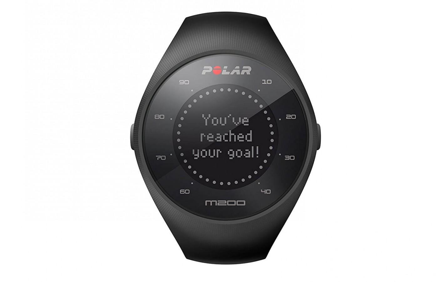 The Polar M200 is easy to use