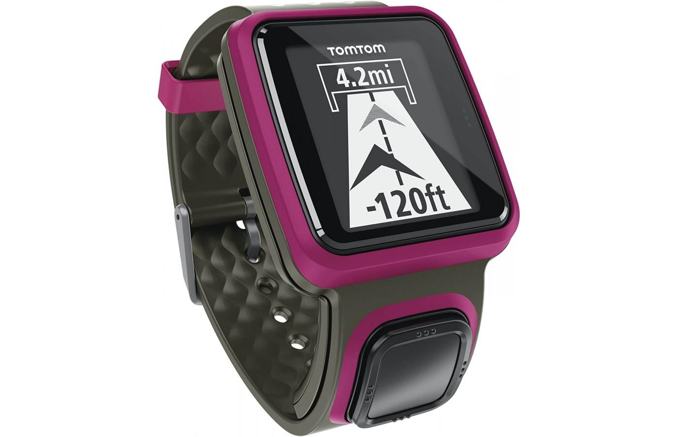 the TomTom Runner is designed for use on treadmills and open runs