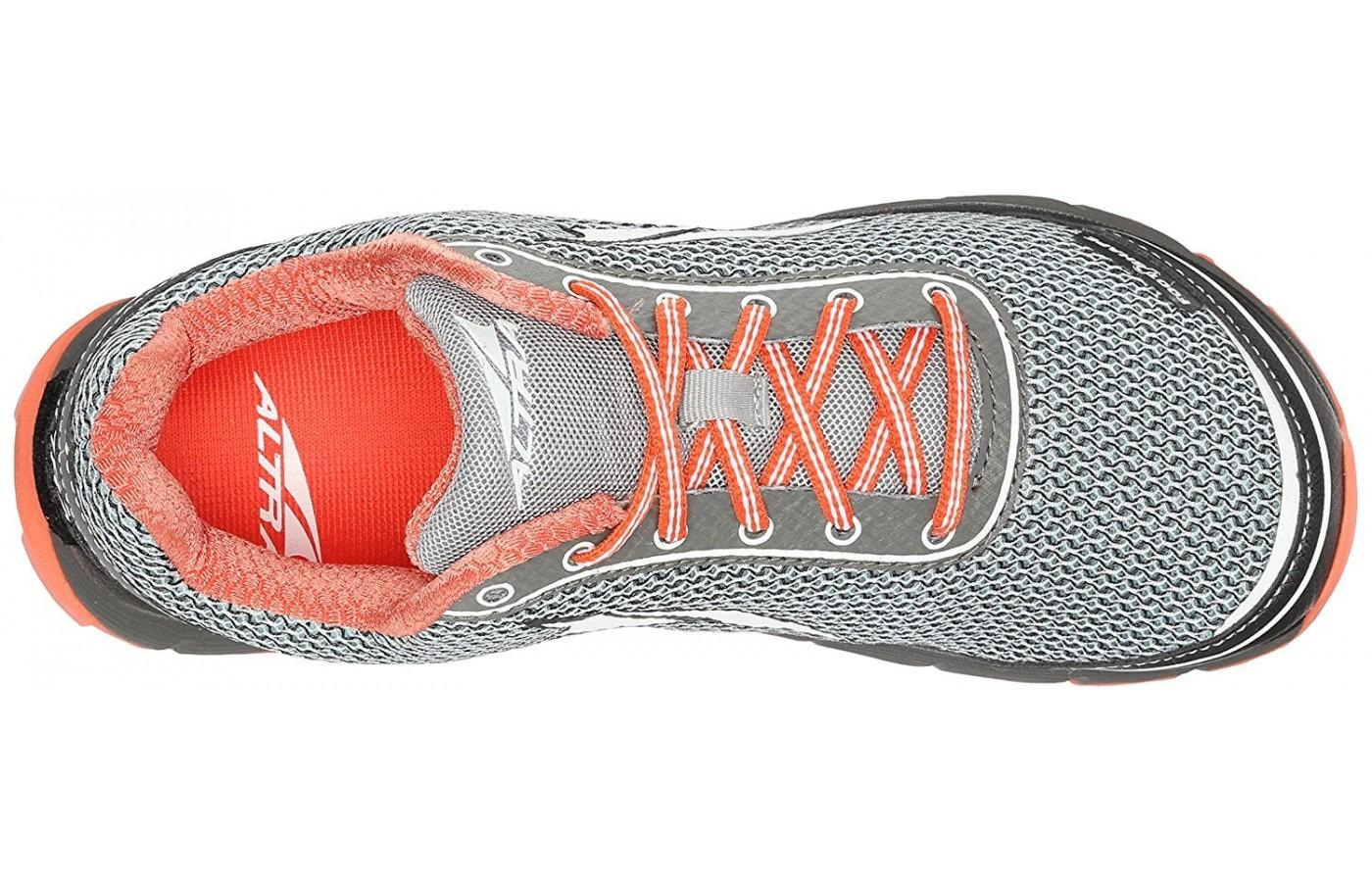 An improved lacing system keeps the Lone Peak 2.5 feeling snug