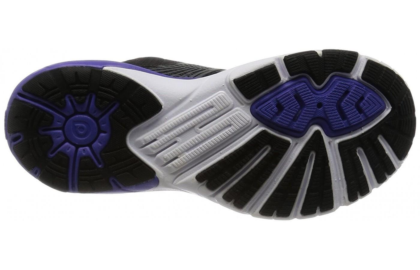 Brooks PureCadence 6 has a rubber outsole