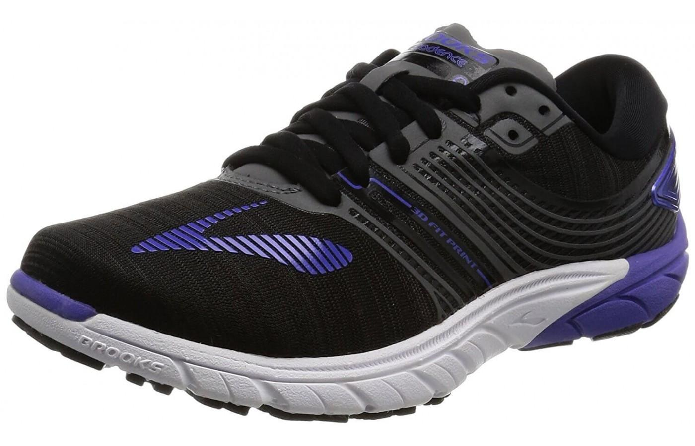 Brooks PureCadence 6 features prominent Brooks logo