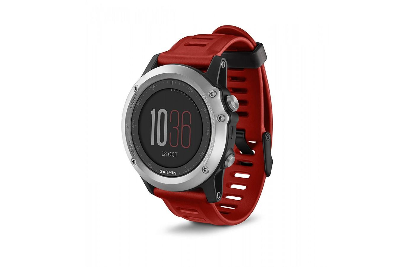 the Garmin fenix 3 is a highly versatile activity monitor