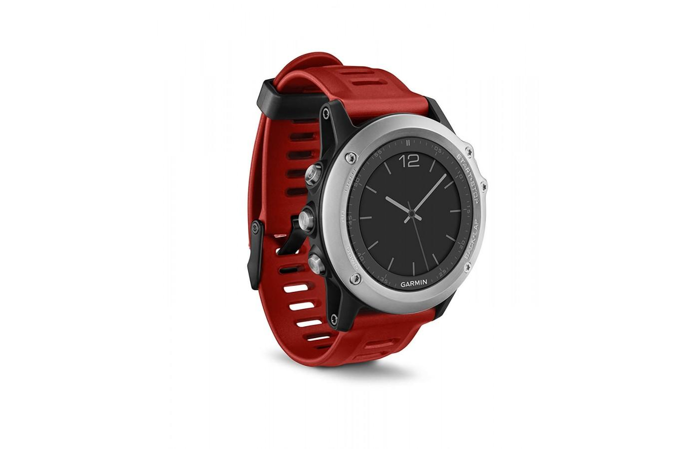 the Garmin fenix 3 is a stylish activity monitor