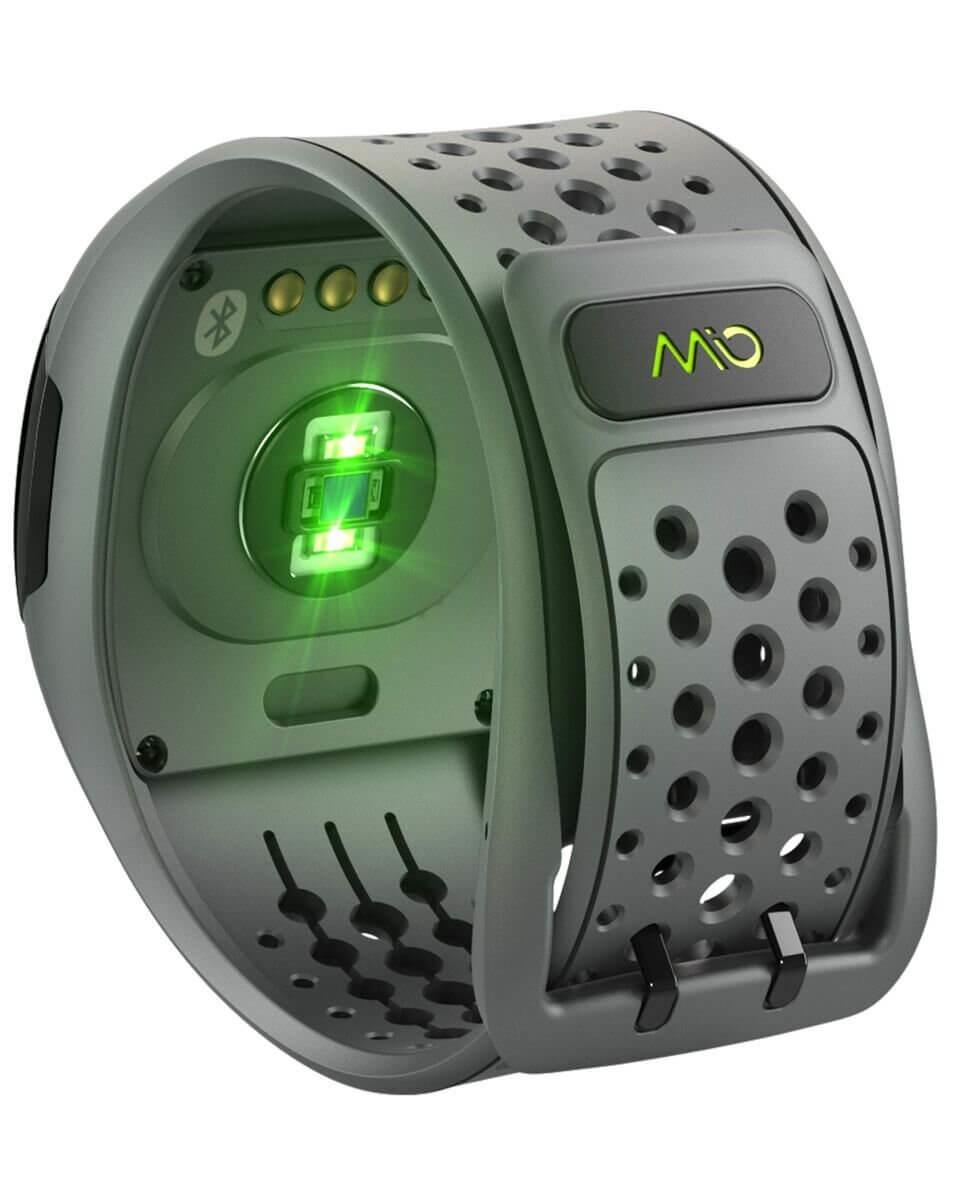 the Mio Alpha 2 has a built-in optical heart monitor
