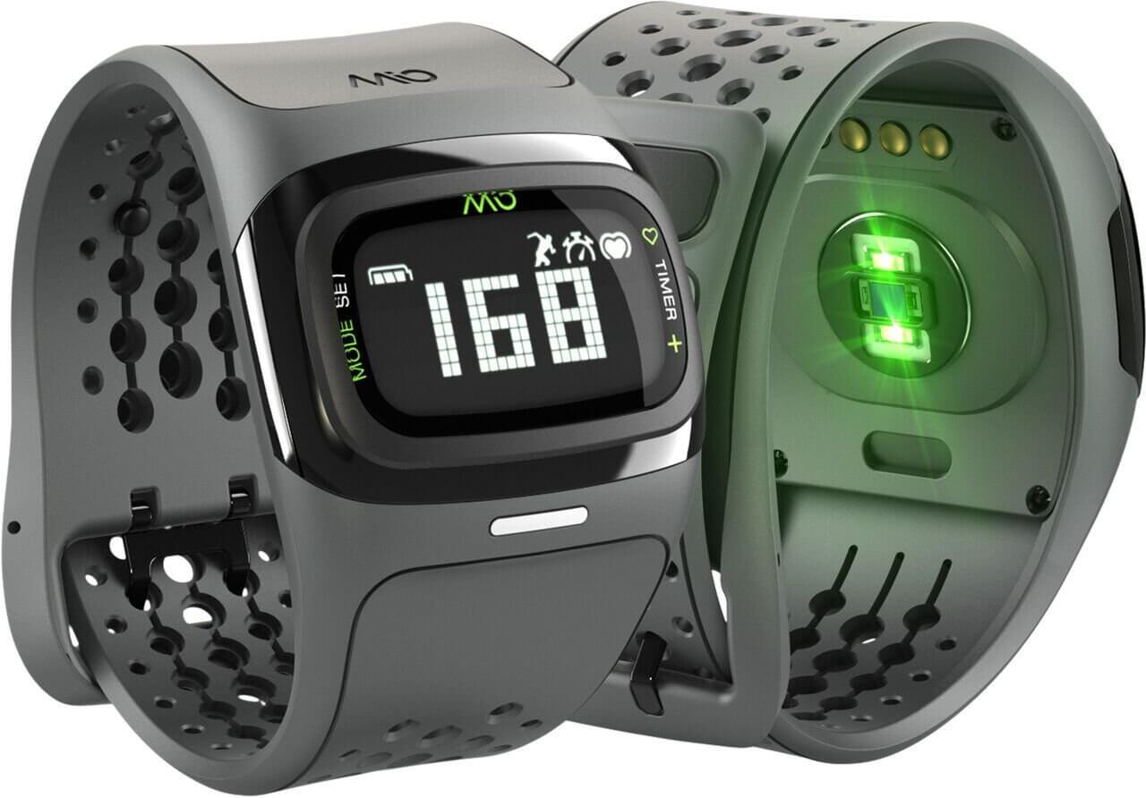 the Mio Alpha 2 is a stylish activity tracker