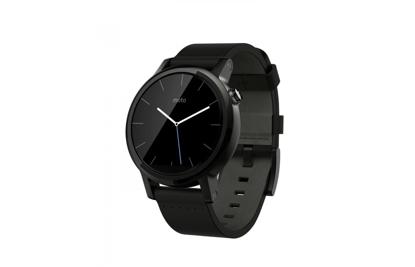 the Motorola Moto 360 (2nd Gen) is both a smartwatch and a fitness tracker
