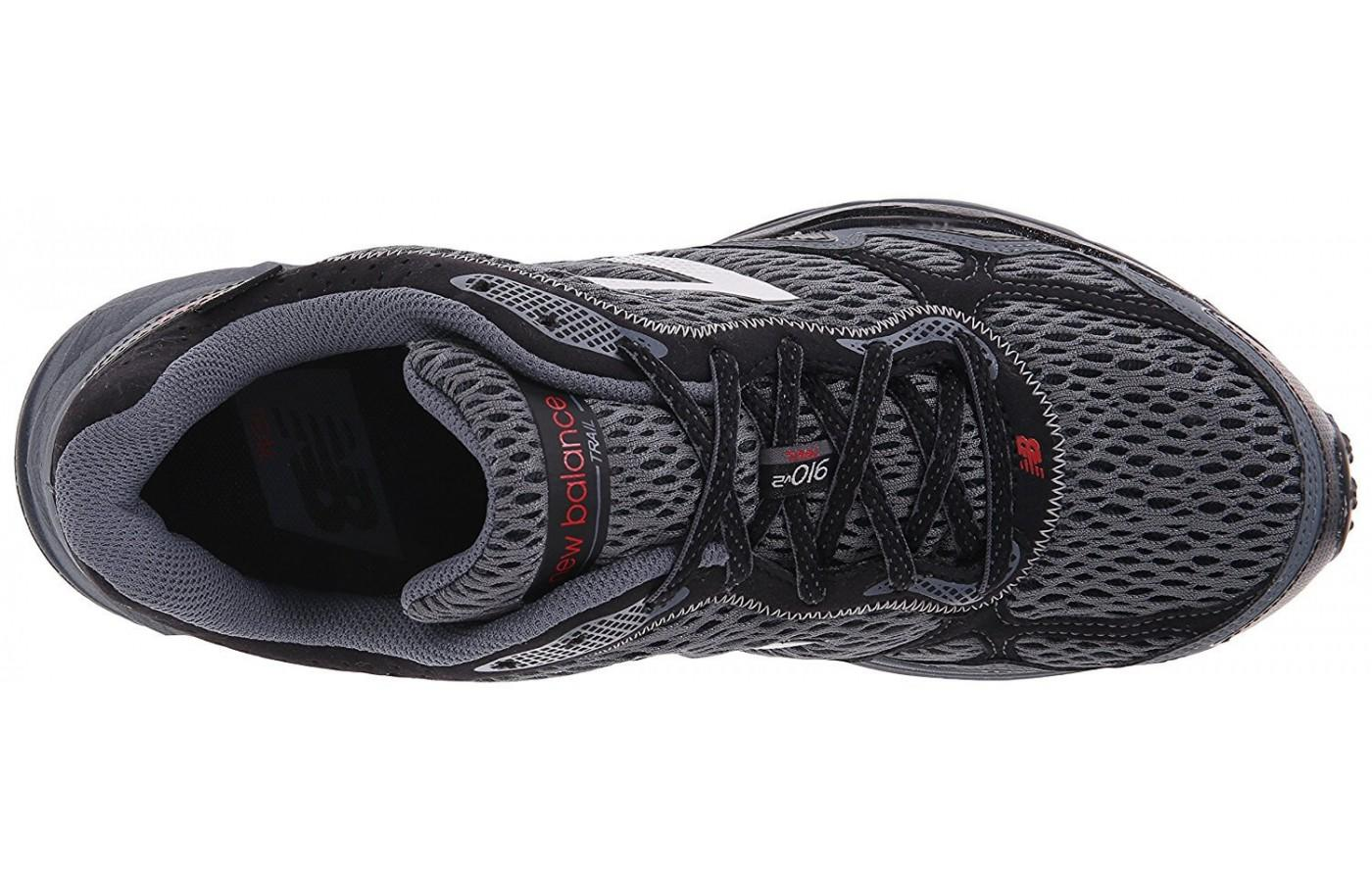The Synthetic mesh upper is much more breathable than the previous version