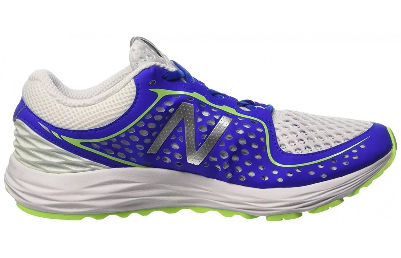The responsive midsole of the New Balance Vazee Breathe.