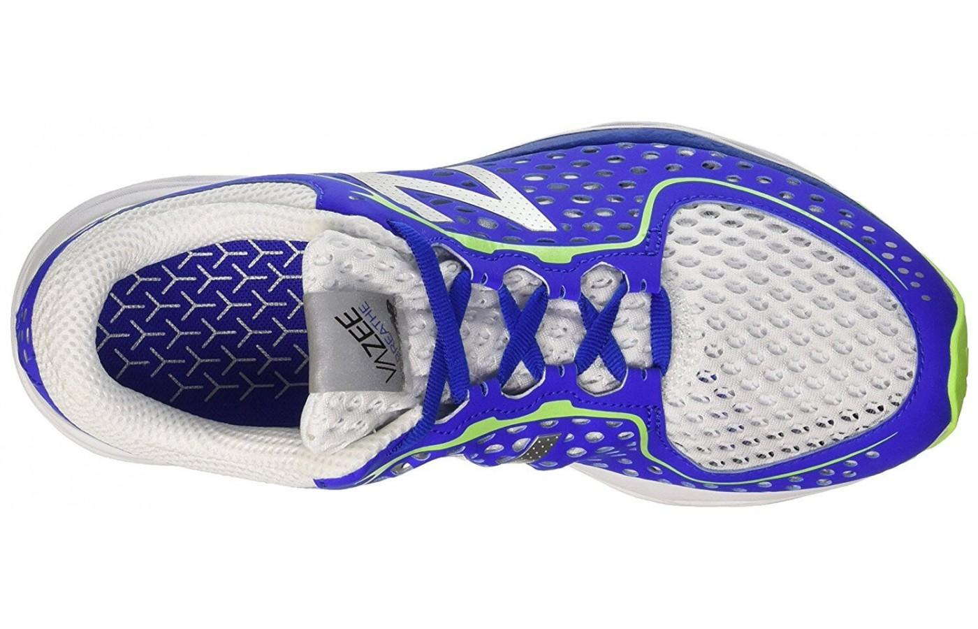 226533f2b2f11 The breathable upper is a key feature of the New Balance Vazee Breathe.