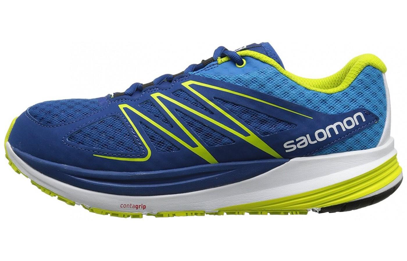 Salomon Sense Pulse has a rocker profile