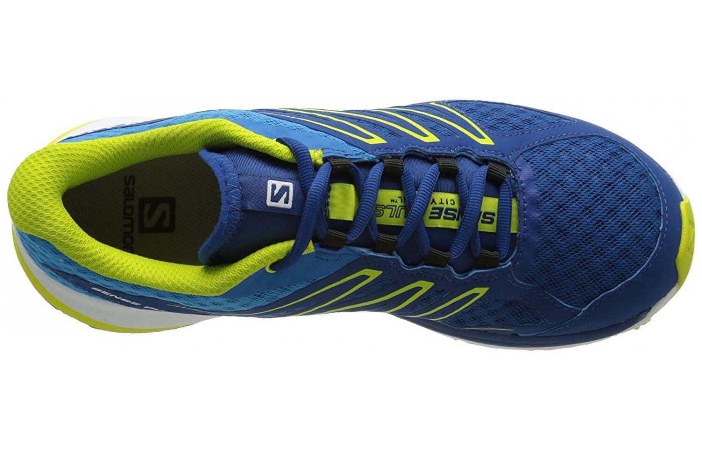Salomon Sense Pulse features an Endofit interior