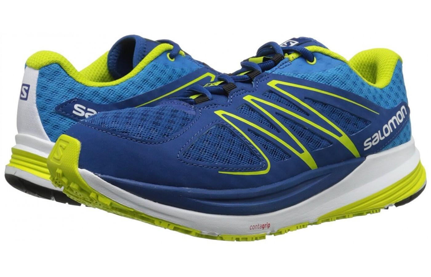 Pair of Salomon Sense Pulse in blue