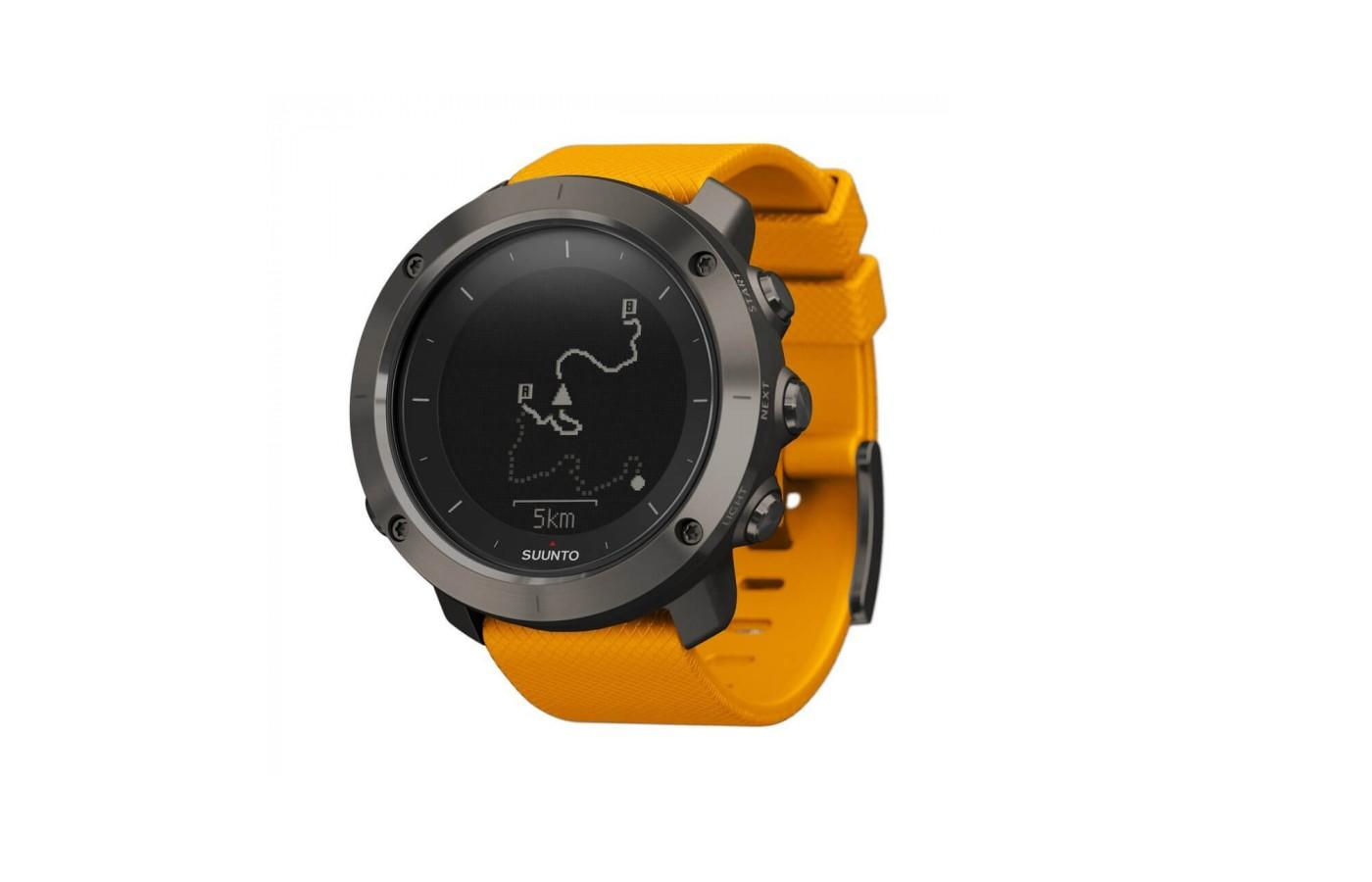Suunto Traverse also comes in Amber