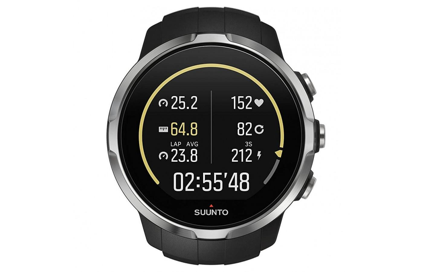 This is Suunto's first heart rate monitoring watch