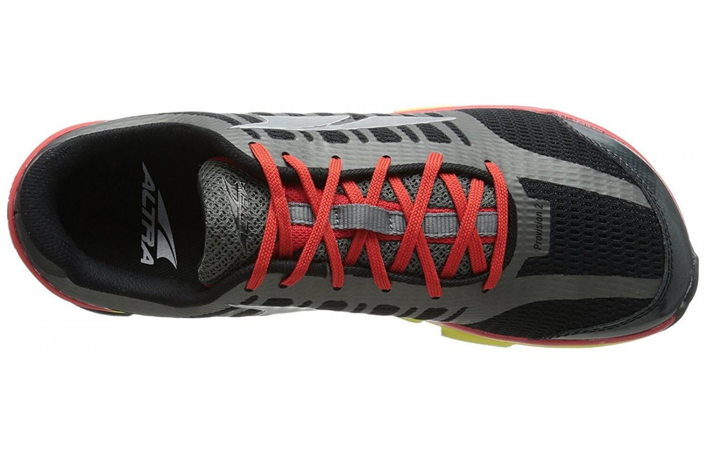 the top of the Altra Provision 2 shoe