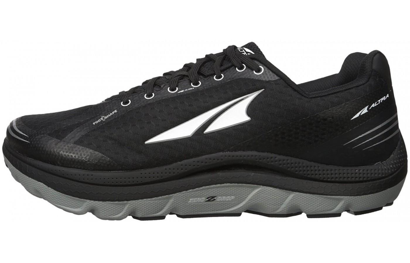 here is a side view of Altra Paradigm 2.0