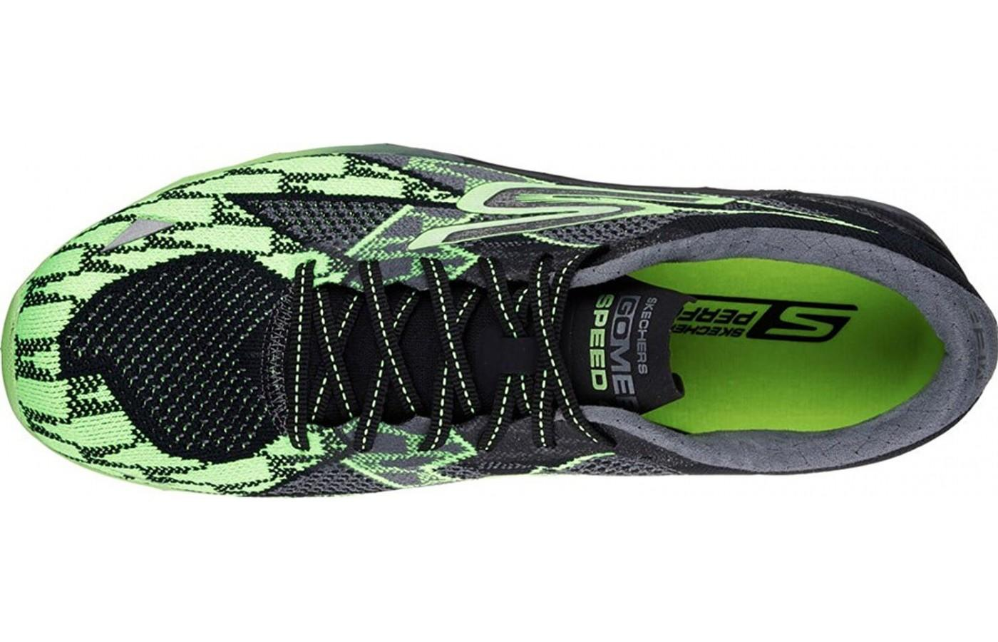 Breathable, lightweight mesh upper