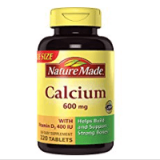 Nature Made Calcium with Vitamin D